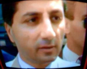 Image of Bashir Gemayel from a 1982 interview