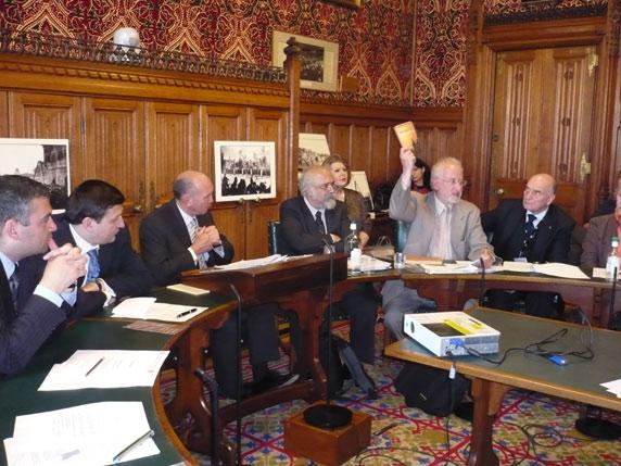 Mike Joseph addresses parliamentary session